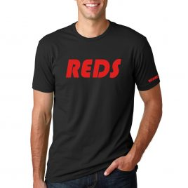 Men's REDS T-Shirt (Black/Red)