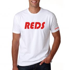 Men's REDS T-Shirt (White/Red)