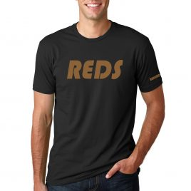 Men's REDS T-Shirt (Black/Gold)