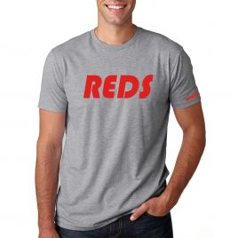 Men's REDS T-Shirt (Grey/Red)