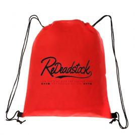 Script Logo Drawstring Bag